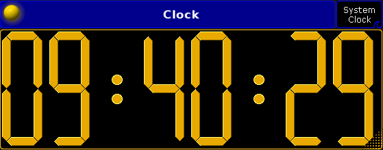 Clock - grandMA2 User Manual - Help pages of MA Lighting