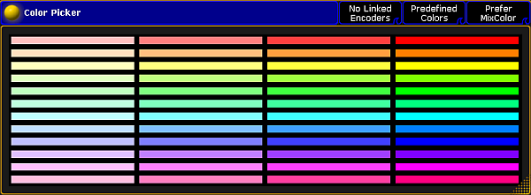 Using The Color Picker Grandma2 User Manual Help Pages Of Ma